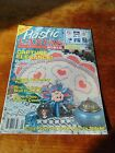 Used Plastic Canvas World Magazine January 1993 Choo Choo Tissue Cover Fan +