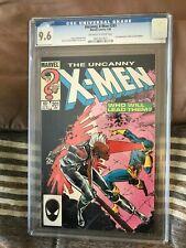 1986 Copper Age Marvel Comics The Uncanny X-Men #201 CGC graded 9.6