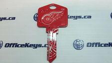 Detroit Red Wings Key Blank WR5 (Weiser) Keyway