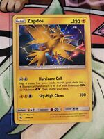 Zapdos Holo Rare Pokemon Hidden Fates 24/68 PACK FRESH NM/M