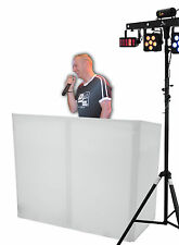 """OMNITRONIC """"Mobile DJ Stand"""" Tisch inklusive Stretch-Cover und Tasche! DJ Rack!"""