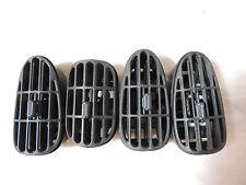 Pontiac Sunfire GRAY Dash Vents Inserts 95 96 97 98 99 00 01 02 03  #4034