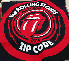 """The Rolling Stones North America 2015 Zip Code Tour-Throw Blanket 53"""" x 60"""" Inch"""
