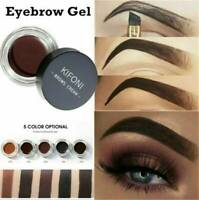 Multicolor Waterproof Eyebrow Cream Tint Pomade Gel Enhancer Eye Brow With Brush