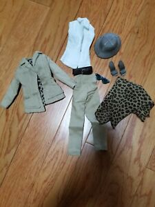 """RETRO SAFARI STYLE OUTFIT FOR GENE AND OTHER SIMILARLY PROPORTIONED 16"""" DOLLS"""