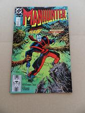 Manhunter 8 . Flash App . DC  1988 . FN / VF