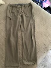 Rab Women's Rockover Climbing Pants Hiking Casual Size Large