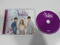 Violetta CD + 5 Rohrclip de Die TV Serie WALT DISNEY Channel 2012 Aufgegebenen