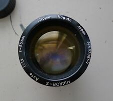 LEICA M MOUNT NIKKOR 55mm 1.2 COMPLETELY COUPLED, MODDED BY AMEDEO MUSCELLI