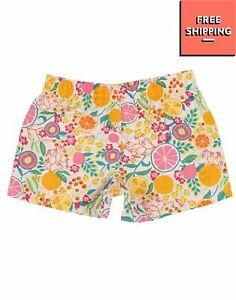 PATAGONIA Shorts Size 3M Drawstring Elasticated Waist Logo Patch Floral Design