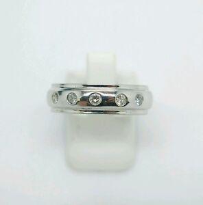 18ct Diamond White Gold Wedding Ring