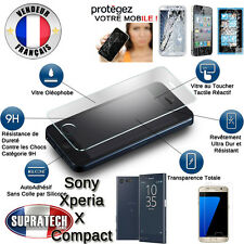 Protection d'Ecran en Verre Trempé Contre les Chocs pour Sony Xperia X Compact