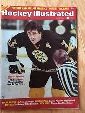 1975 (Apr.) Hockey Illustrated Magazine, Phil Esposito, Boston Bruins