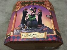 "HARRY POTTER Homework 6.5"" Statue MATTEL 2000 Warner Bros. LE Ron Hermione NEW"
