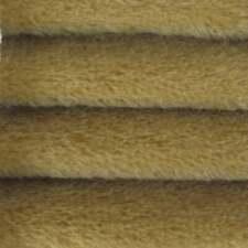 "1/4 yd 300S Buckwheat Intercal 1/2"" Ultra-Sparse German Mohair Fur Fabric"