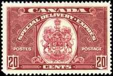 Canada #E8 mint VF OG NH 1938 Special Delivery 20c dark carmine CV$87.50