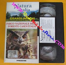 VHS film PARCO NAZIONALE DELLE FORESTE CASENTINESI Natura d'italia (F121) no dvd