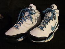 Men's Nike Blue Chip Supreme Deron Williams White/Blue Shoes 339645-141 Size 13