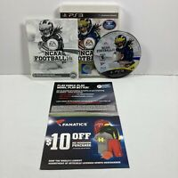 NCAA Football 14 (PlayStation 3, 2013 PS3) Complete, Tested - Working CIB