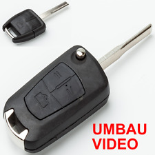 OL313 Umbau-Gehäuse Schlüssel 3 Tasten Opel Fernbedienung Vectra B,C,Signum,Omeg