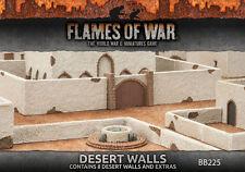 Flames of War BNIB Desert Walls BB225