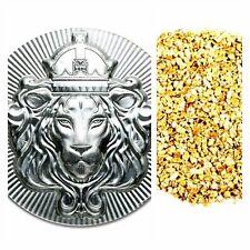 100 GRAM .999 SILVER SCOTTSDALE STACKER + 50 PIECE ALASKAN PURE GOLD NUGGETS