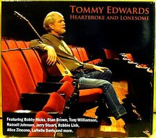 TOMMY EDWARDS HEARTBROKE AND LONESOME CD BOBBY HICKS TONY WILLIAMSON STAN BROWN