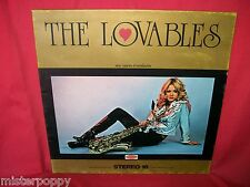 THE LOVABLES Sax Voices & Orchestra LP ITALY 1975 MINT- Sexy Cover Beatles