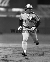MLB 1984 Pete Rose Montreal Expos Black & White 8 X 10 Photo Picture