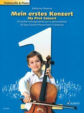 My First Concert 25 Easy Concert Pieces from 5 Centuries Cello and Pia 049044766