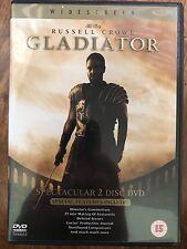Russell Crowe GLADIATOR | 2000 Ridley Scott's Epic Oscar Winner | 2-Disc UK DVD