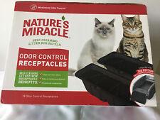 Natures Miracle Litter Box Refills 18 Odor Control Receptacles