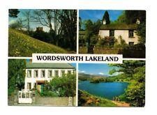 Cumbria - Wordsworth's Lakeland - Multiview Postcard Franked 1998