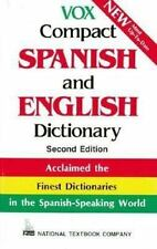 National Textbook Language Dictionaries: Vox Compact Spanish and English Dictio…