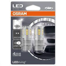 OSRAM LED P27/7W 12V AUTO COOL BIANCO 6000K Lampadine Zeppa Coda 180 3547CW-02B (TWIN)