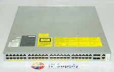 CISCO WS-C4948E-S Catalyst 4948E Switch w/Dual PWR-C49E-300AC 6MthWty TaxInv