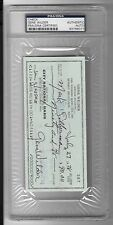 Gene Wilder Signed Cancelled Check PSA/DNA Autograph