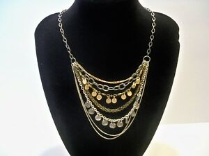 Mixed Metals Chain Necklace