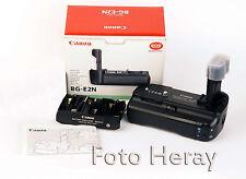 Canon BG-E2N originaler Akkugriff + Battery  Holder-Magazin BG-E,  OVP. BG-E2N