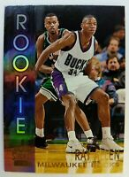 1996 96-97 Topps Stadium Club Rookies Ray Allen Rookie RC #R19, Milwaukee Bucks