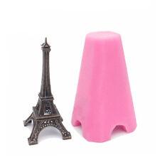 3D Eiffel Tower Silicone Fondant Mould Chocolate Sugarcraft Cake Mold Baking DIY