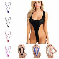 Women's Sexy/Sissy Lingerie Sheer Babydoll Bodysuit G-String Underwear Nightwear