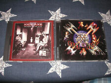 KICK AXE - Welcome to the Club + Rock the World RARE 2 CD LOT!! *VG-NM*
