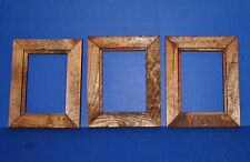 5X7 Rustic Wood Picture Frames  NEW 3 Frame Lot