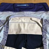 Title Nine size M skort skirt-over-shorts blue active wear tennis running