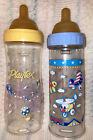 Rare-Vintage Playtex Nursers/Baby Bottles/Original Brown Latex Nipples!! 8 Oz.