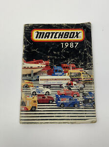 GENUINE Matchbox 1987 Booklet BROCHURE - COVERING ALL THE SERIES