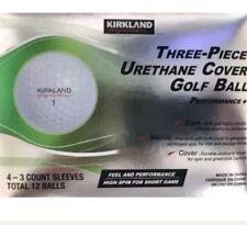 Kirkland Signature 3 piece Urethane Cover Golf Balls 1 Dozen