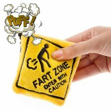 Fart Zone Plush Keyring With Sound Keychain Key Ring Novelty Gift