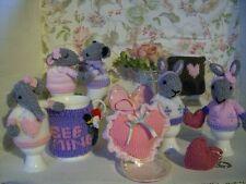 A Cosy Valentine - Toys, Mug-hug, Bunny, Mice,, sachet Soft Toy Knitting Pattern